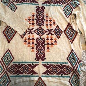 Wrangler Tribal Print Tunic